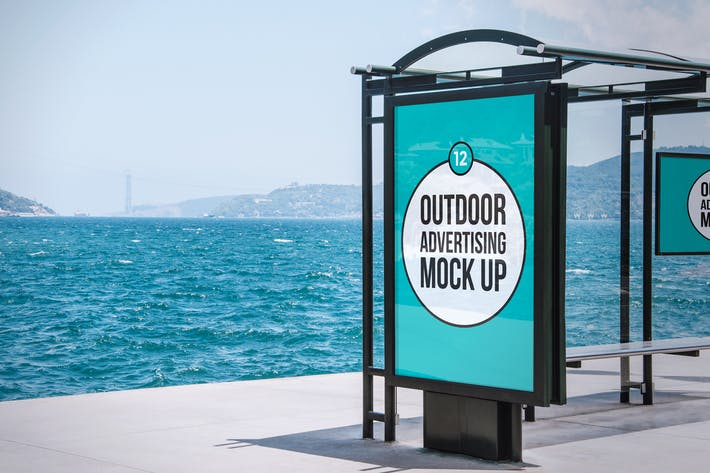 Thumbnail for Outdoor Advertising Mock Up
