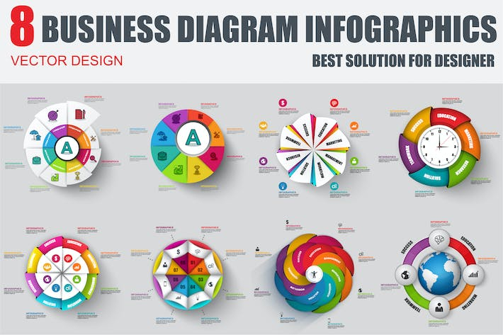 Thumbnail for Diagram Infographics