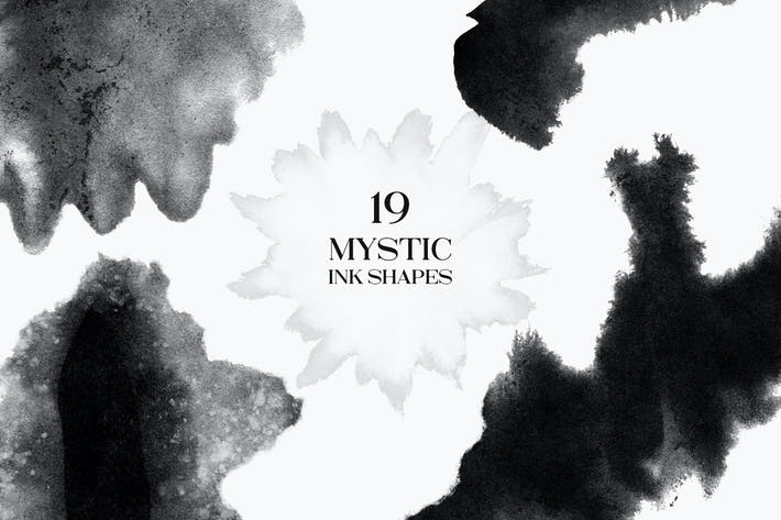 Thumbnail for 19 Mystic Ink Shapes