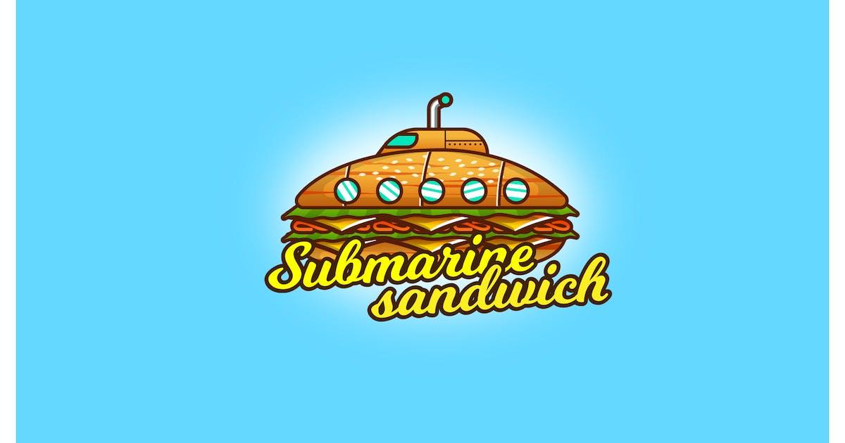 Download submarine sandwich - Mascot & Esport Logo by aqrstudio