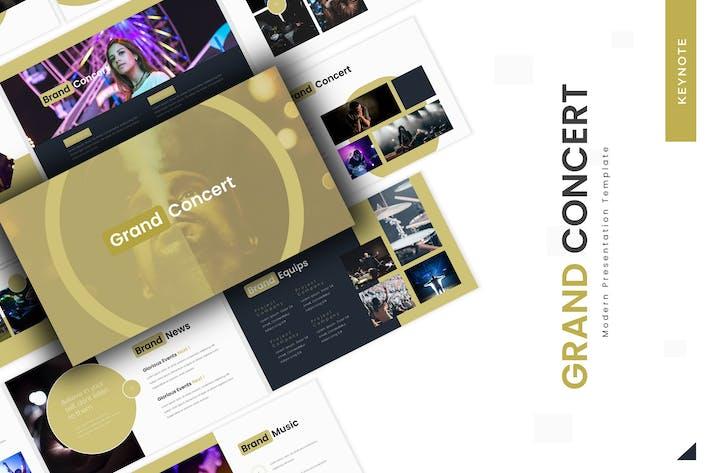 Grand Concert - Keynote Template