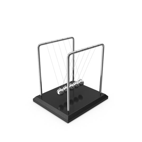 Newton's Cradle Desktop Toy