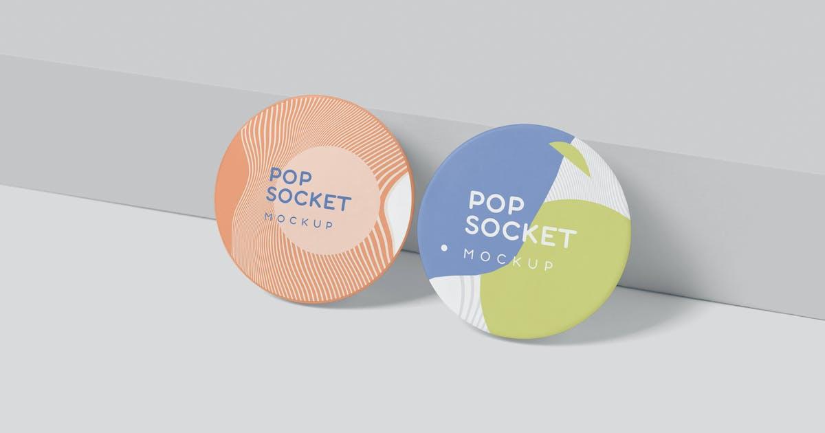 Download Pop Socket Mockups by GfxFoundry