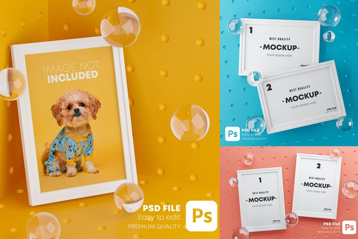 Stylish Frame Mockup Pack