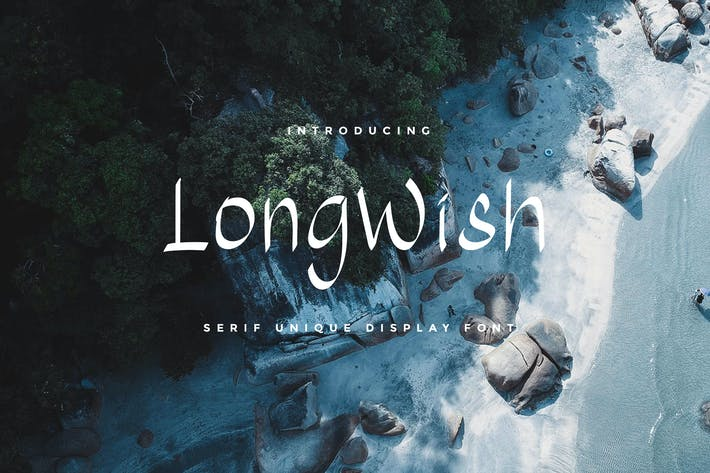 Thumbnail for Long Wish YP Display Font