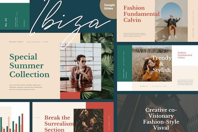 IBIZA - Stylish & Elegant Google Slides Template