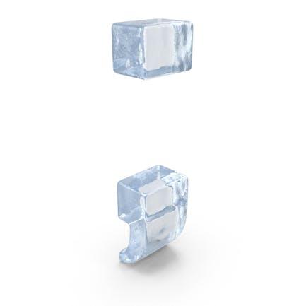 Ice Semicolon Symbol