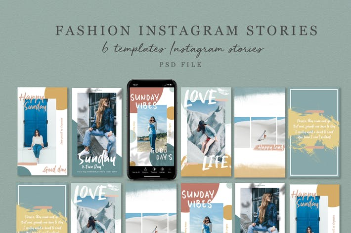 Thumbnail for Fashion Instagram Stories V.02