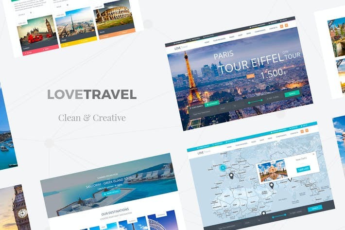 Cover Image For Love Travel - Creative Travel Agency