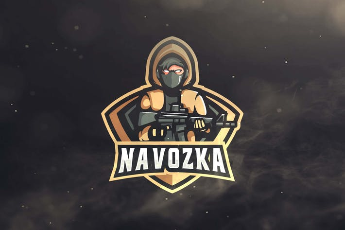 Thumbnail for Hoodie Mask Sport and Esports Logos