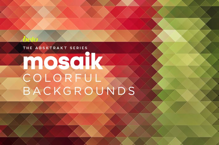 Thumbnail for Mosaik Colorful Backgrounds V5