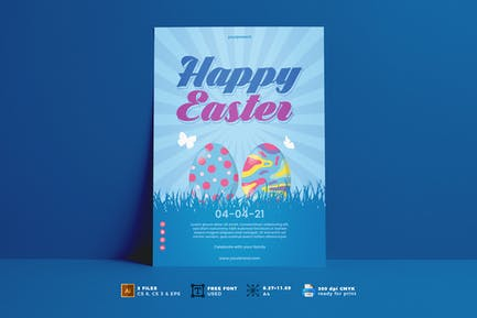 Easter Day Flyer Vol. 01