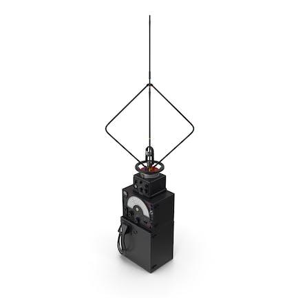 Антенна для поиска радионаправления с усилителем