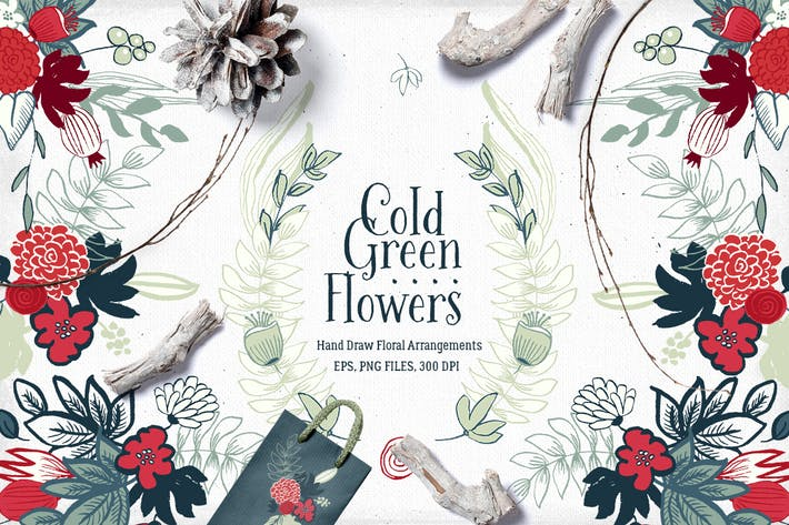Thumbnail for Cold Green Flowers