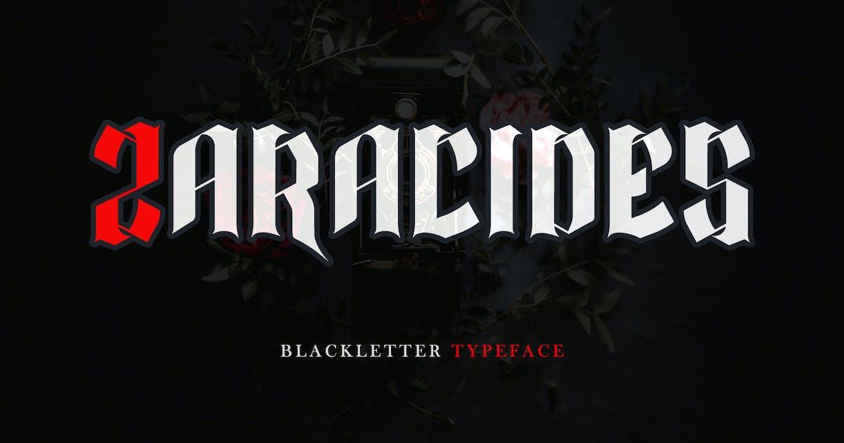Download Zaracides - Blackletter DR by Rometheme