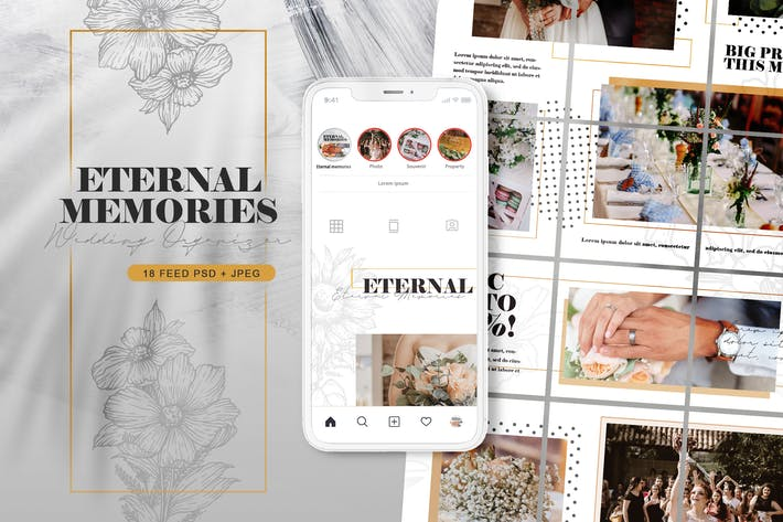 Thumbnail for Wedding Event Planner - Instagram Puzzle