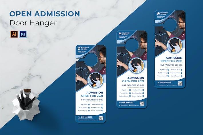 Thumbnail for Open Admission Door Hanger