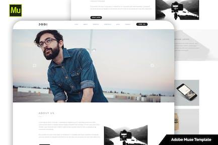 Jodi - Clean Multipurpose Portfolio Template