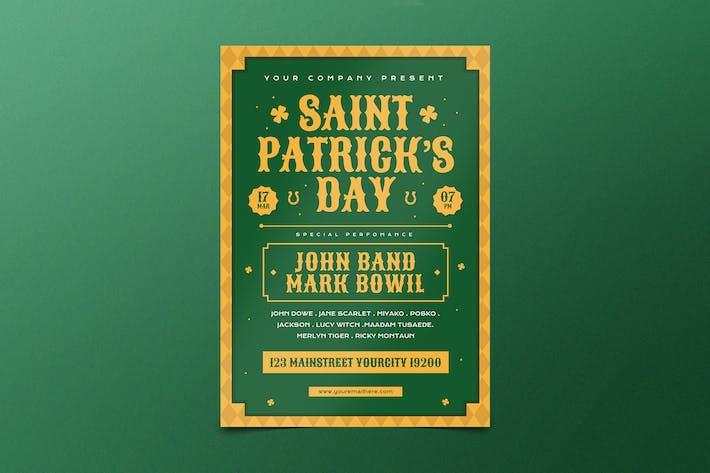 St.Patrick dépliant