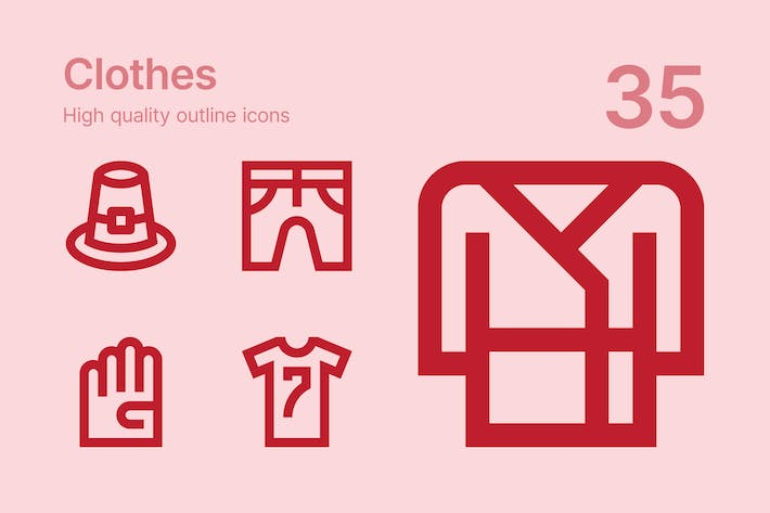 Thumbnail for Clothes icons