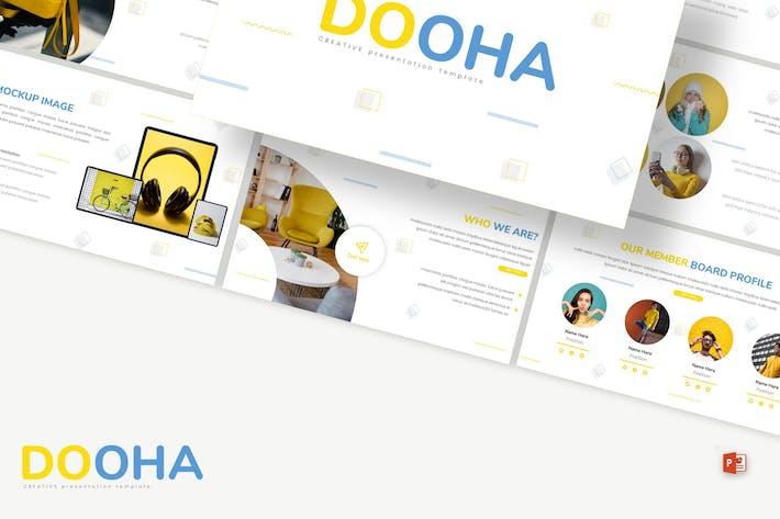Thumbnail for Dooha - Творческий Шаблон Powerpoint