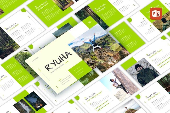 Thumbnail for Ryuha - Travel Agency PowerPoint Template