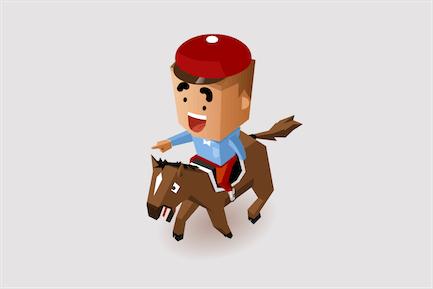 Jockey Horse Racing