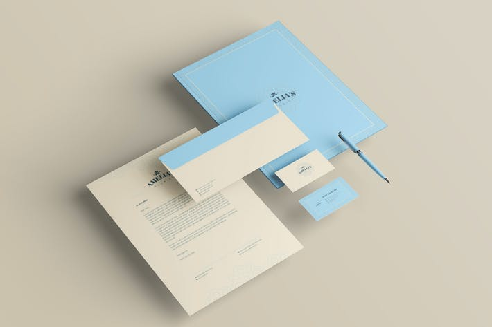 Flower Shop Branding Identity & Stationery Pack