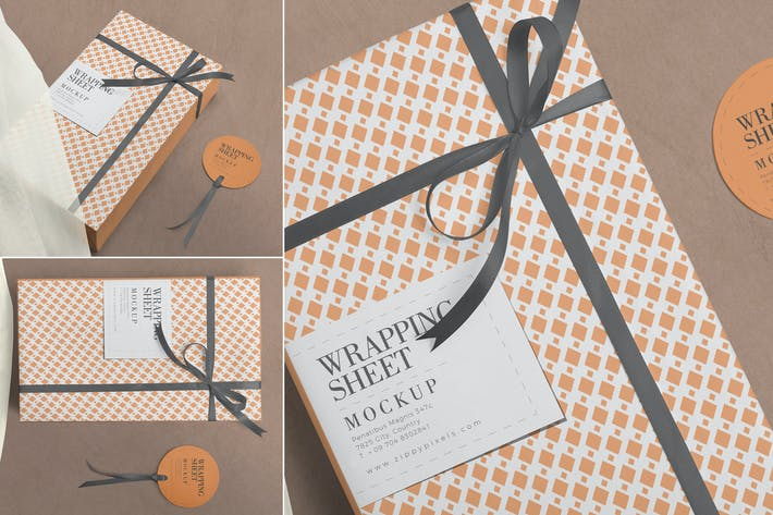 Thumbnail for Wrapping Paper Mockups
