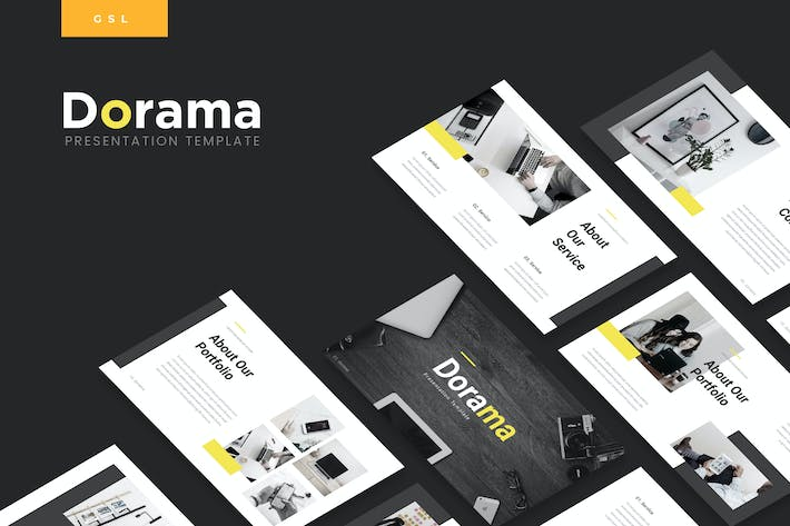 Thumbnail for Dorama - Corporate Google Slides Template