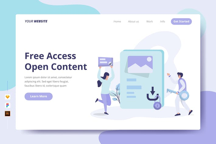 Thumbnail for Free Access Open Content - Landing Page