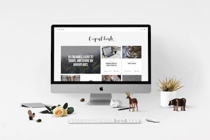 CorpusChristi – A Responsive HTML5 Blog Template