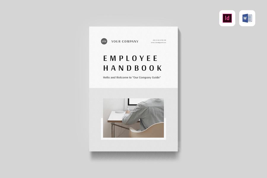 Employee Handbook   MS Word & Indesign