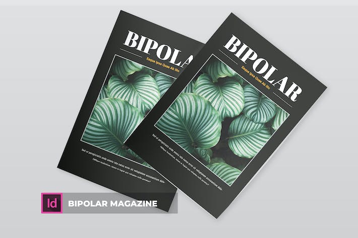 Thumbnail for Bipolar | Magazine Template