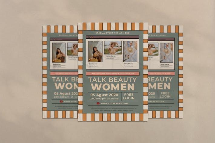 Thumbnail for Damen Talk Flyer