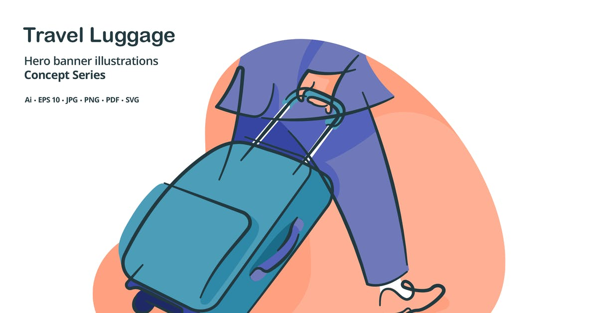 Download Travel Luggage Vector Illustration by roundicons