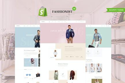 Модный - Shopify Тема