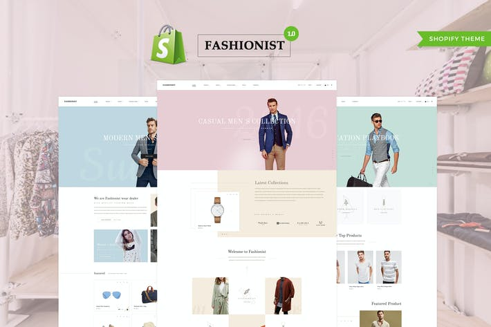Thumbnail for Fashioniste - Shopify Thème