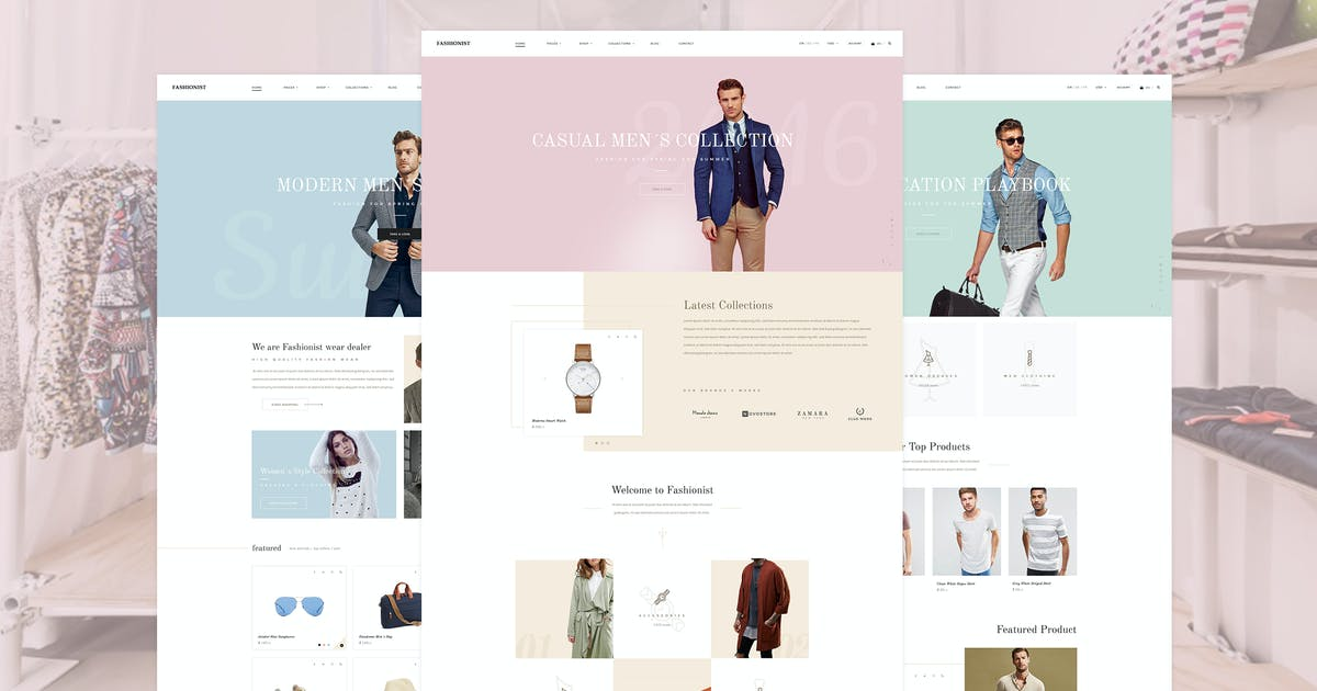 Download Fashionist - Shopify Theme by KL-Webmedia