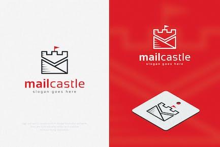 Minimal Mail Castle Logo