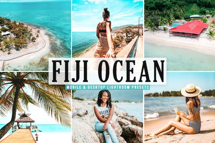 Thumbnail for Fiji Ocean Mobile & Desktop Lightroom Presets