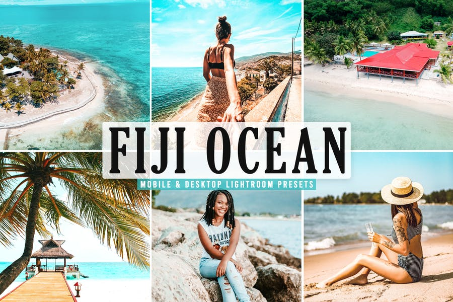 Fiji Ocean Mobile & Desktop Lightroom Presets
