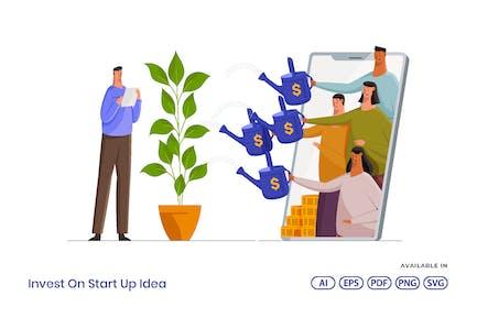 Invest On Startup Idea