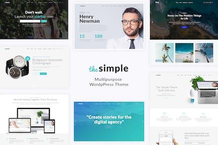 Simple - Business WordPress Tema