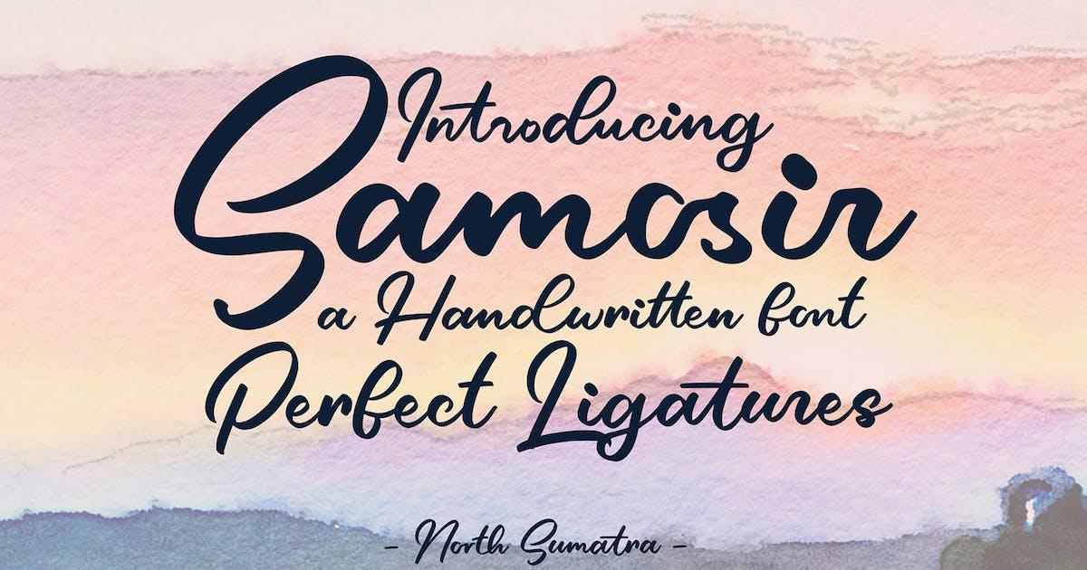 Download Samosir | Handwritten Font by graptailtype