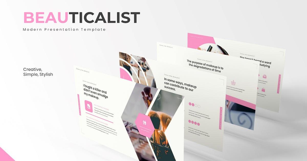 Download The Beauticalist - Keynote Template by karkunstudio