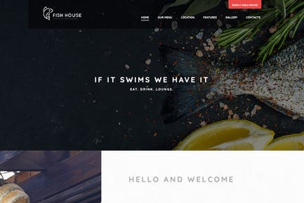 Fish House | A Stylish Seafood Restaurant / Cafe