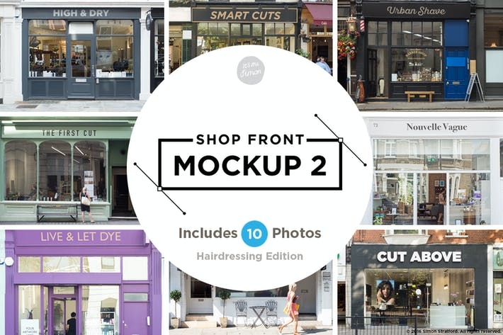 Thumbnail for Shop facade mockup 2