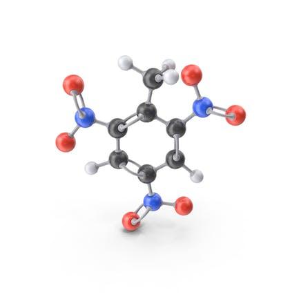 Молекула тротила