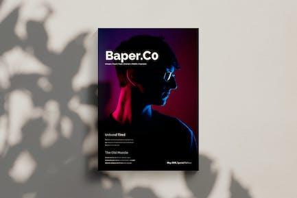 Baper Co - Modèle de magazine